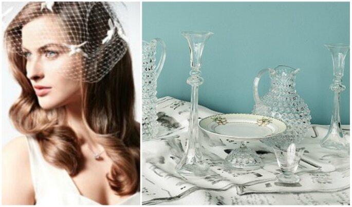 Detalles vintage para tu boda. Fotos: BHLDN