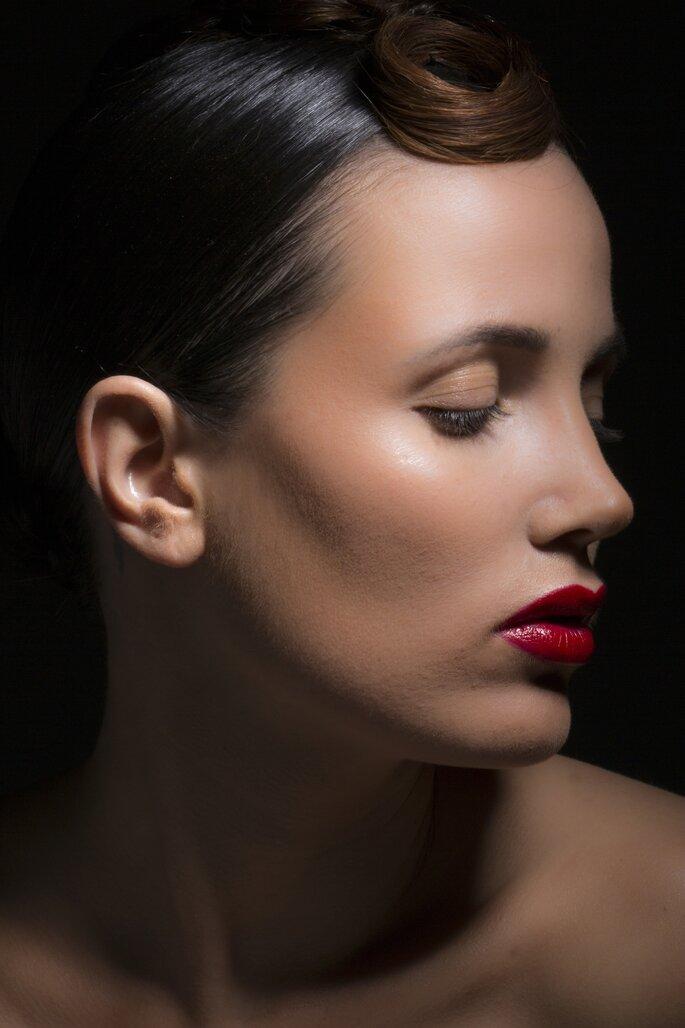 Schmale Lippen, kein Problem mit den Tipps von Valeria Meier