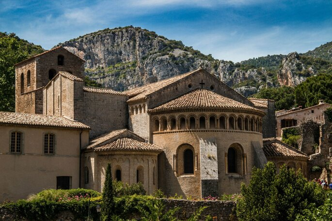 Abbaye de Gellone à Saint-Guilhem-Le-Désert