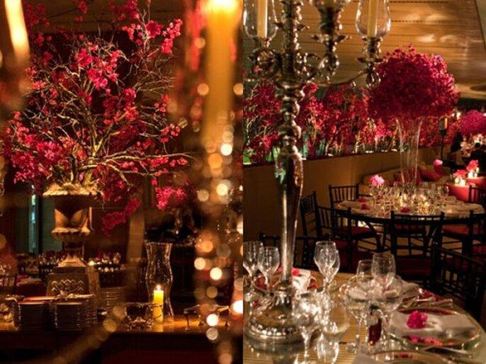 Decoración de boda en un sólo color. Imagen Boutique de Tres