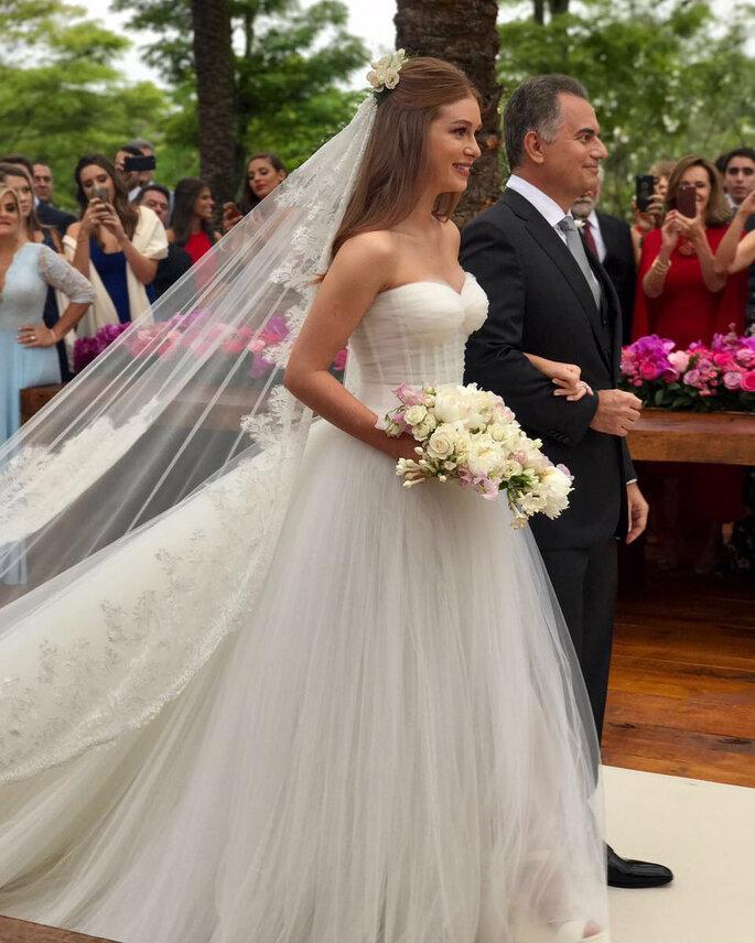 Vestido de casamento Marina Ruy Barbosa