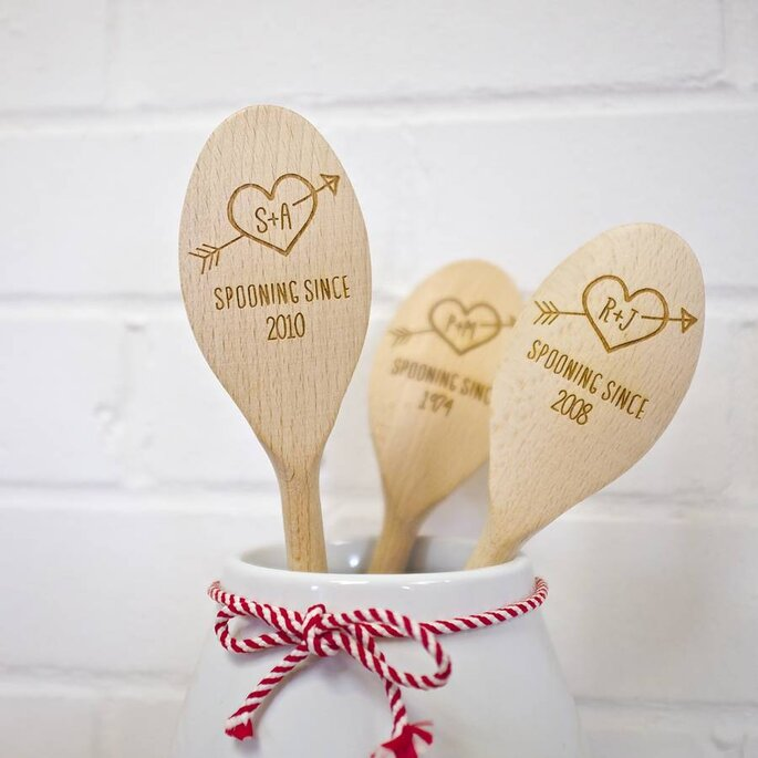 Personalised wooden spoons: Auntie Mims via Not on the High Street