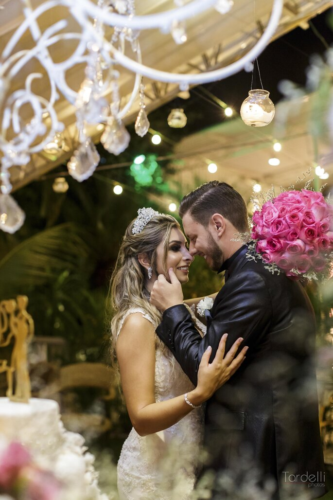 Decoração suspensa para casamento