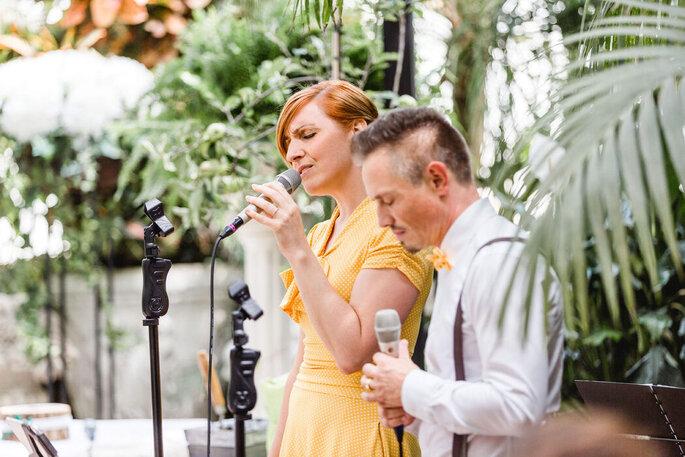 Live Musik Hochzeit Zimt & Zucker Gesang