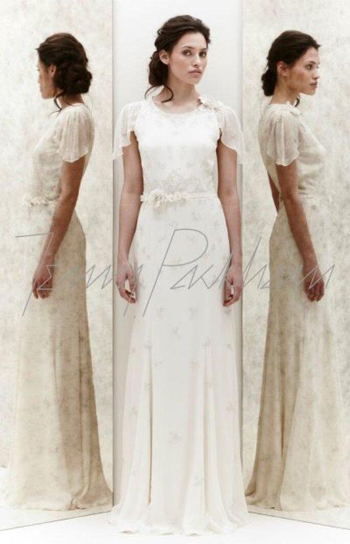 Hochzeitskleid mit zauberhaften Details - Foto Jenny Packham