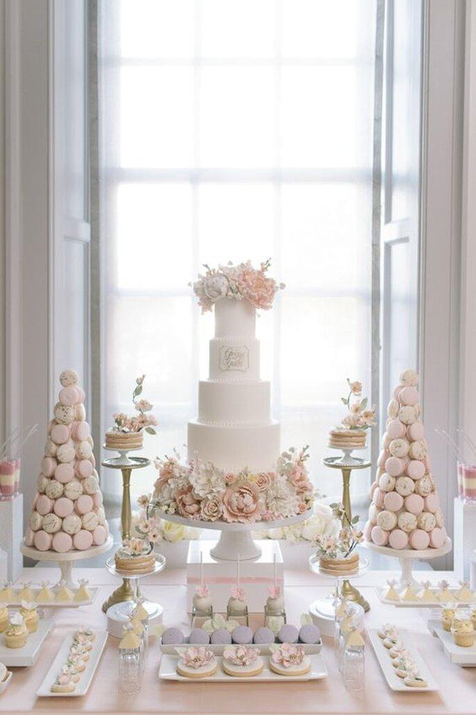 Matrimonio Tema Rosa Cipria : Decora il tuo matrimonio di bianco e cipria il giusto tocco di