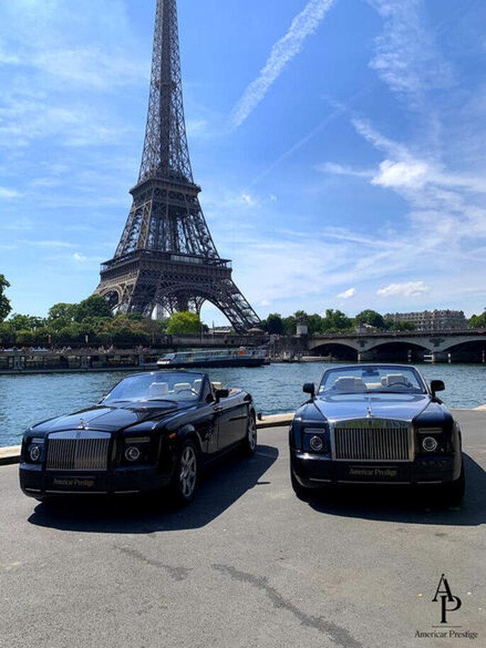 Americar Prestige - Voitures des mariés - Paris