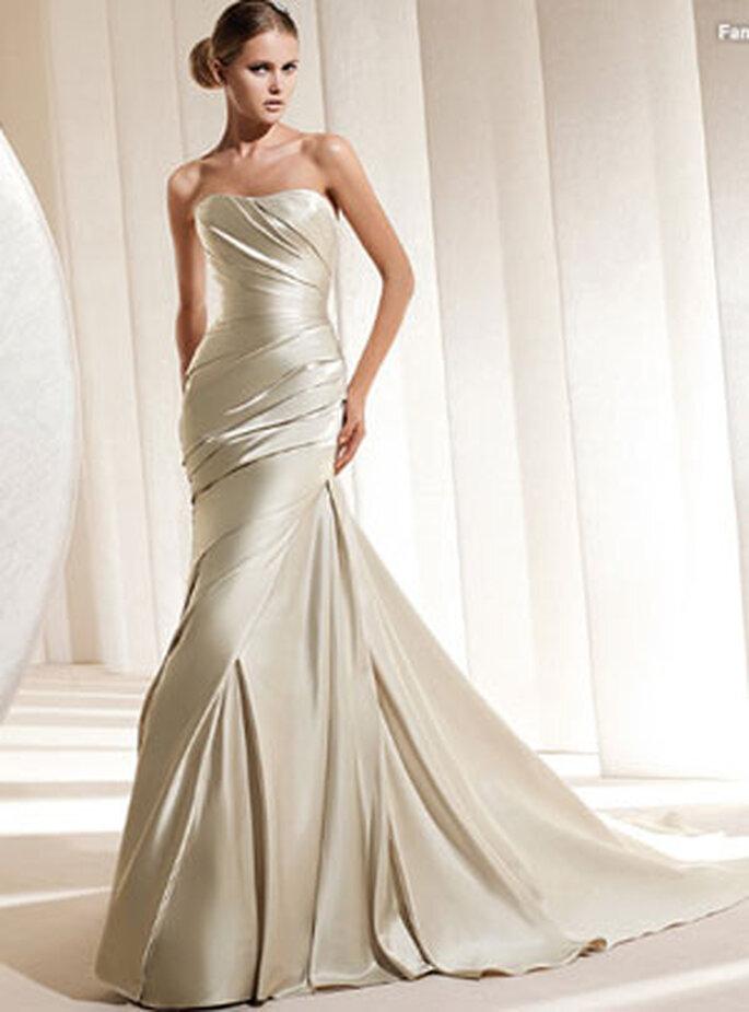 Farbiges Brautkleid von La Sposa