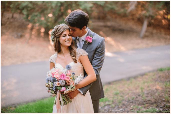 Real Wedding: Una Boda Encantadora Y Casual En Oakland