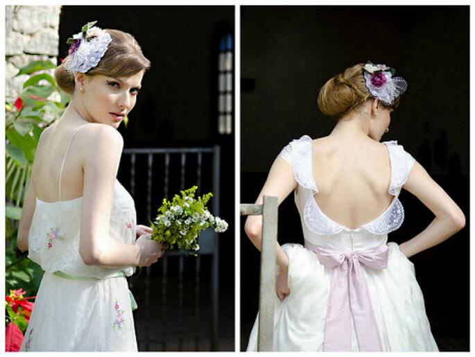Inspirações de noiva no estilo vintage