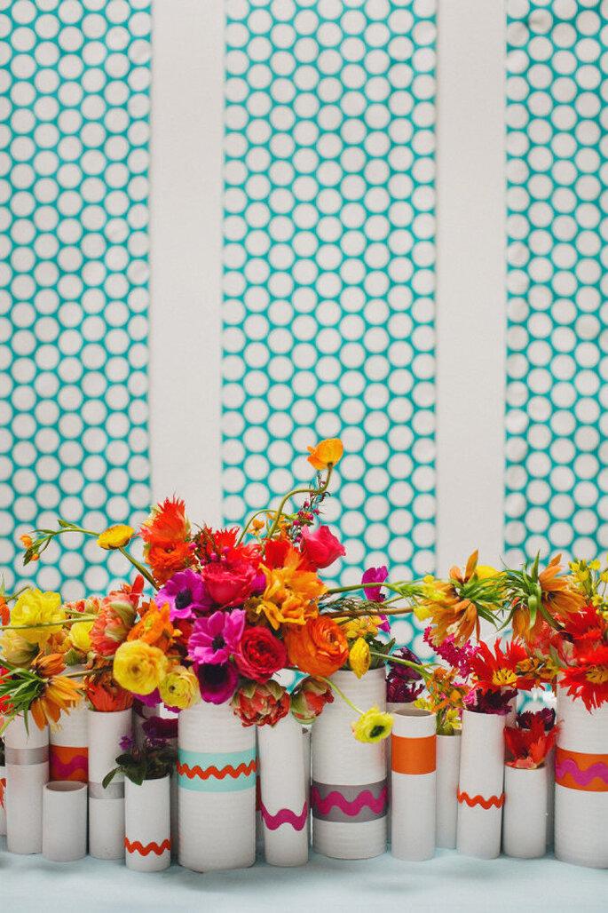 decoración genétrica - Jasmine Star Photography