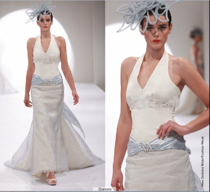 Vestido Danara, colección 2012 Rubén Perlotti