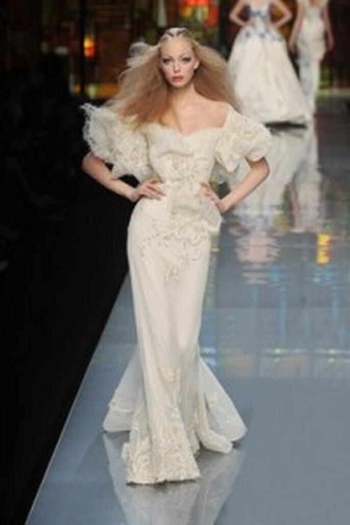 Diseño de novias de Dior