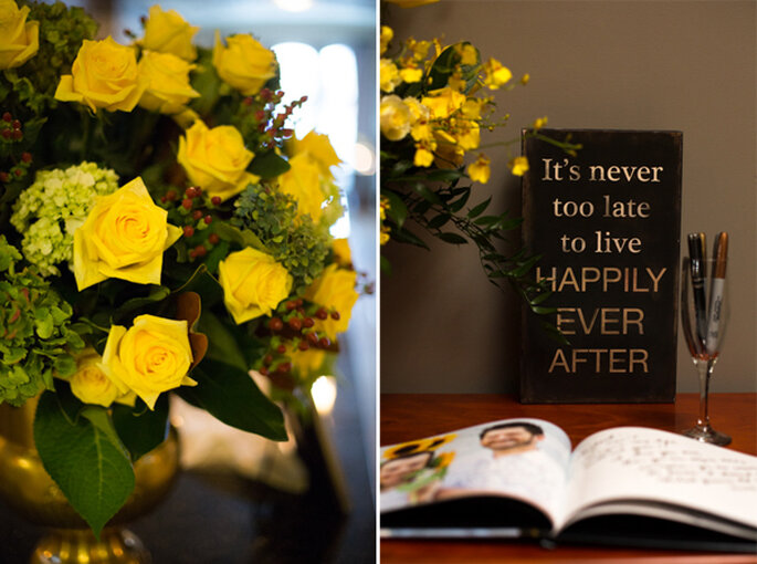 Elegante inspiración desde un matrimonio igualitario. Foto: Left of Center Photography