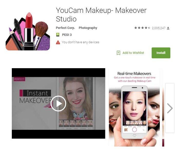 YouCam - Makeup