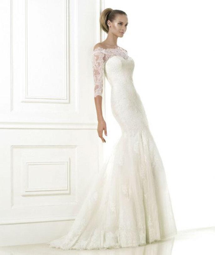 Abiti da sposa in pizzo pronovias prezzi  Blog su abiti da sposa ...