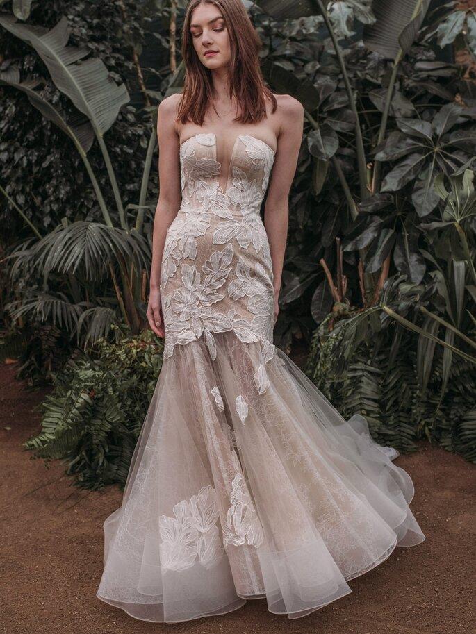 Robe de mariée vintage sirène