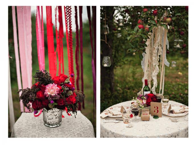 Tintes rojizos y magia en tu boda - Foto Heidi Lynn Photography