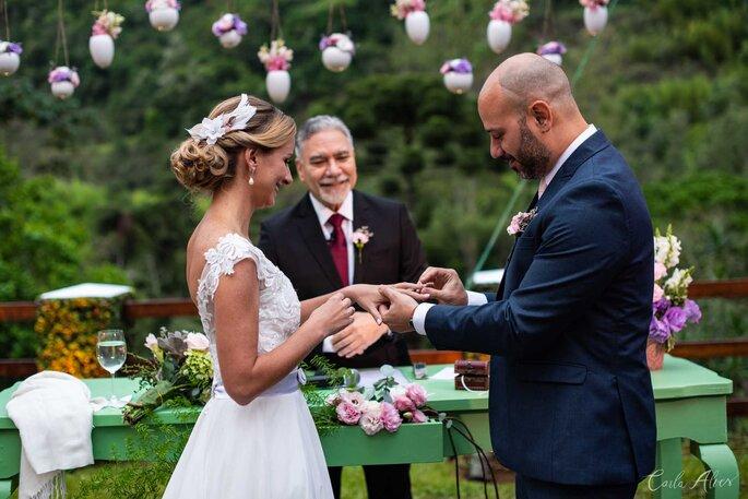 Casamento rústico e romântico em Petrópolis