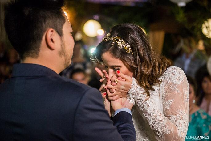 Carinho noiva