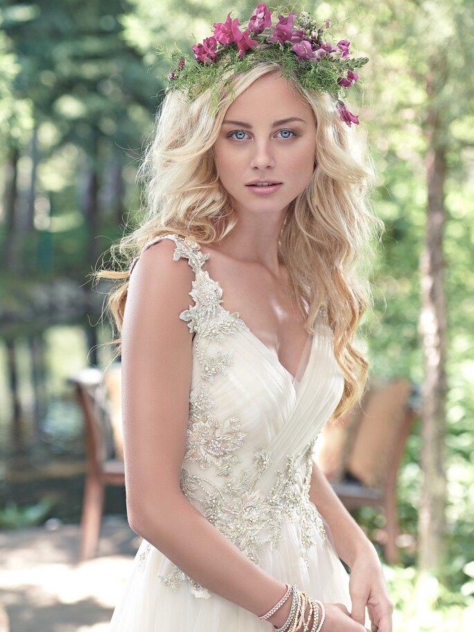 Maggie Sottero | Disponível em Noiva Lusa