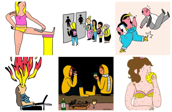 Ilustraciones de Cécile Dormeau