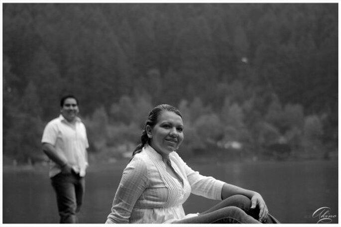 Fotos de preboda en el lago - Foto Emmanuel Aquino