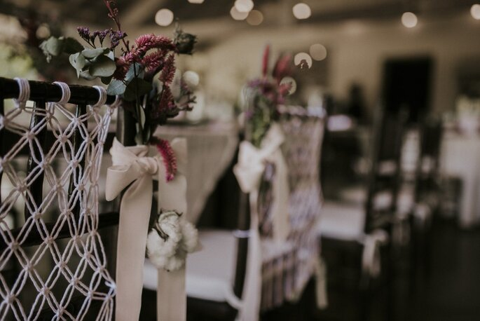 decoração casamento rustico boho
