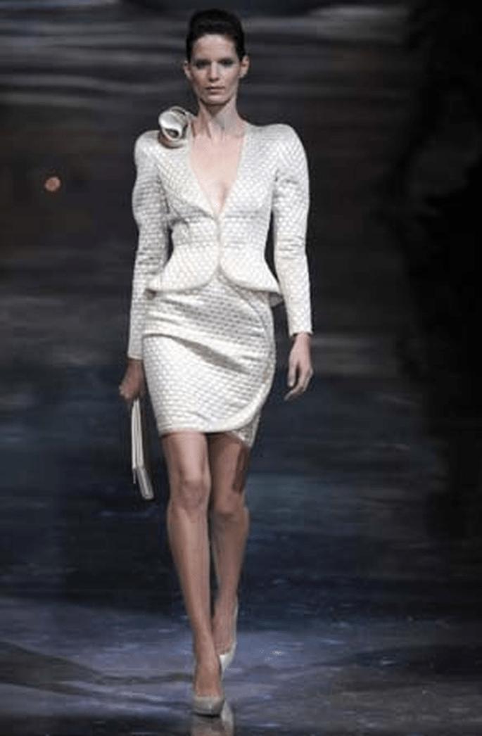 Mode für das Standesamt -Armani 2011