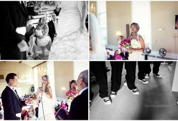 Zapatos deportivos para boda. Foto de Bianca Velentim.