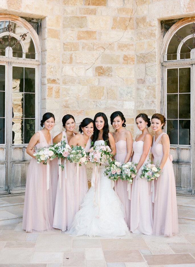 6 cosas básicas que una dama de boda nunca debe hacer - KT Merry Photography