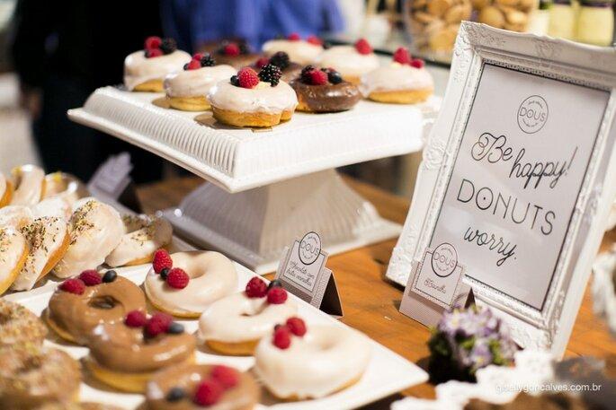 Donuts em casamentos