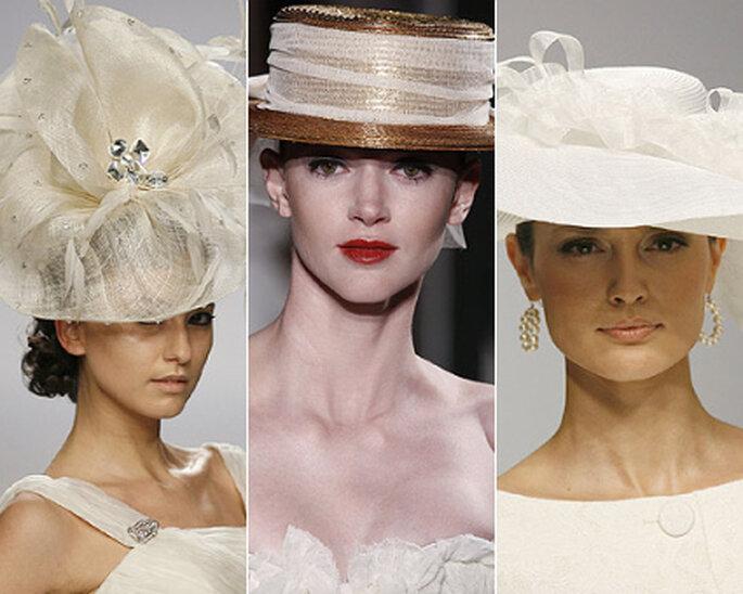 Свадебные шляпки 2012.  Изображения принадлежат fashionbride.wordpress.com.