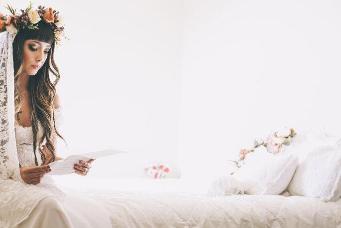 Noiva momentos antes de casamento em BH