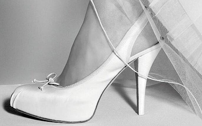 Zapatos para novia de Pura López