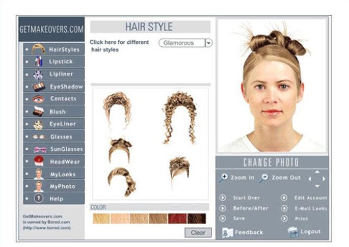 Peinados y maquillajes a tu alcance, a un sólo golpe de click