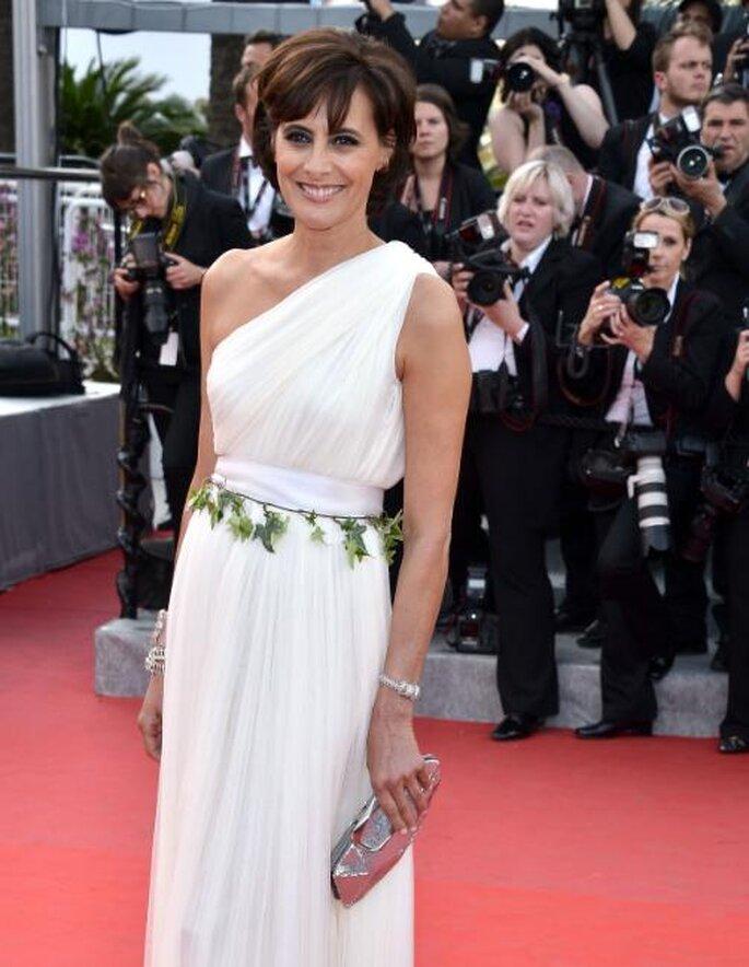 Inés de la Fressange, Festival de Cannes 2012. Image.net.