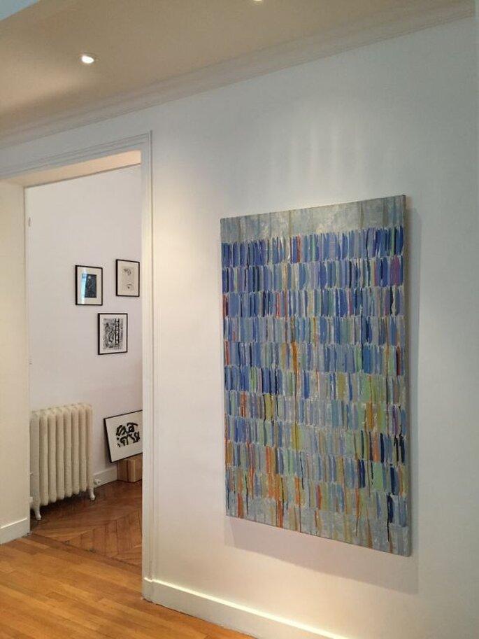Galerie Zeuxis, tableau de Claire de Chavagnac Brugnon
