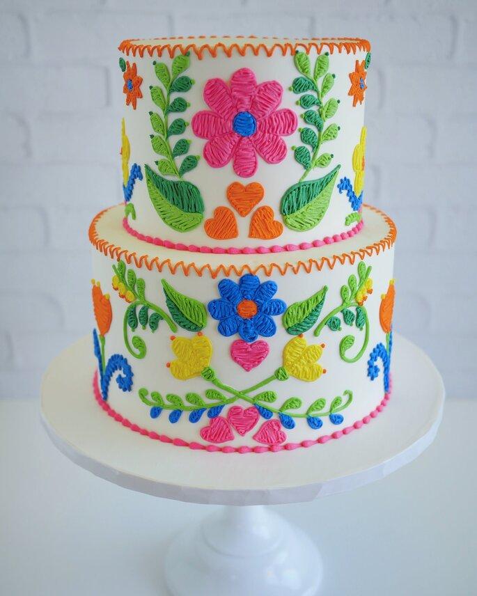 Pasteles mexicanos para bodas