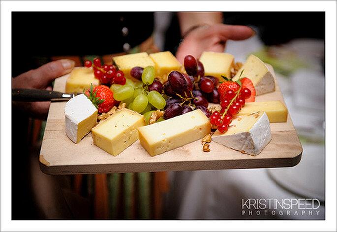 Una dieta saludable te ayudará a tener más energía el día de la boda. Foto: Kristin Speed Photography - www.kristinspeed.com