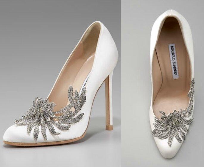 Zapatos de novia de Bella Swan en Amancer por Manolo Blanhik