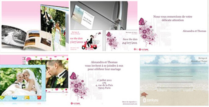 Invitations, Save the Date, Cartes de remerciements, Album photos Vistaprint