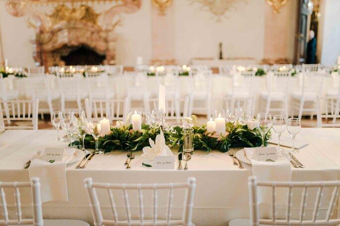 Tischdekoration Hochzeit Schloss Fine Art Wedding