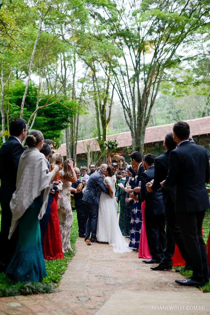 Como agradecer a presença dos convidados do meu casamento