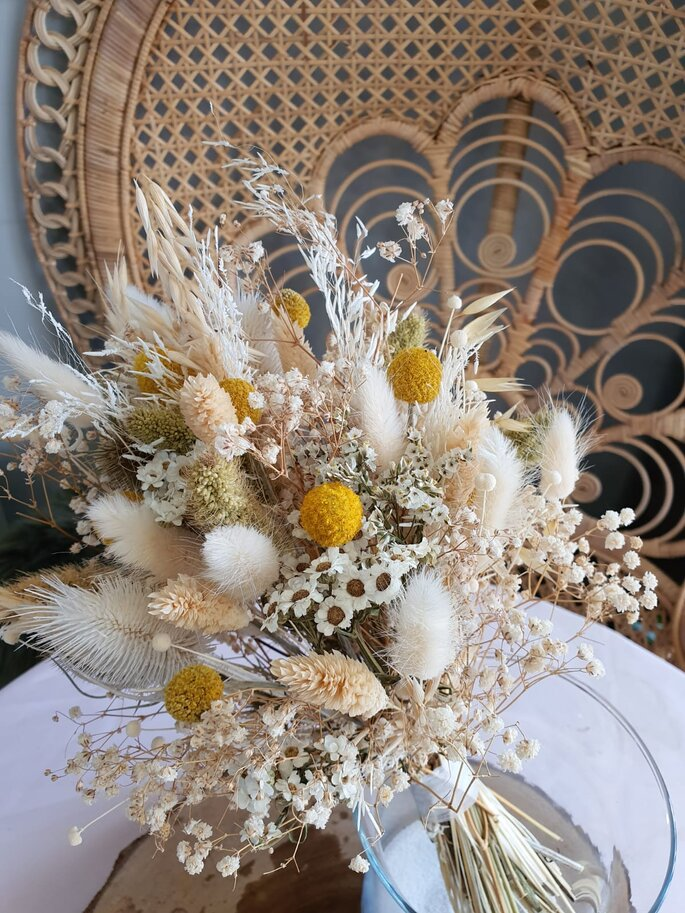 Décoration florale pour votre mariage.