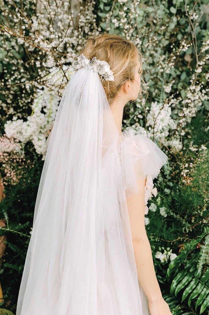 Voile de mariée peigne