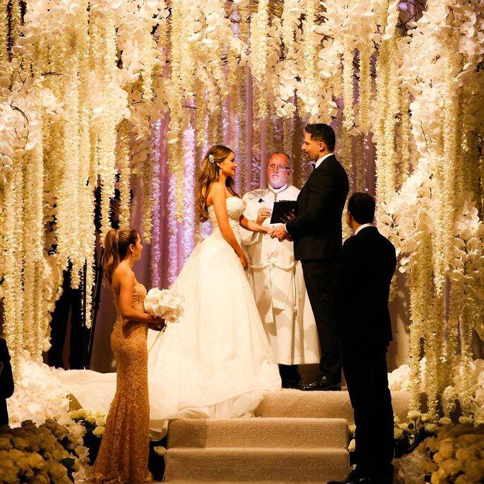 Le nozze di Sofia Vergara e Joe Manganiello. Credits: Sofia Vergara Instagram