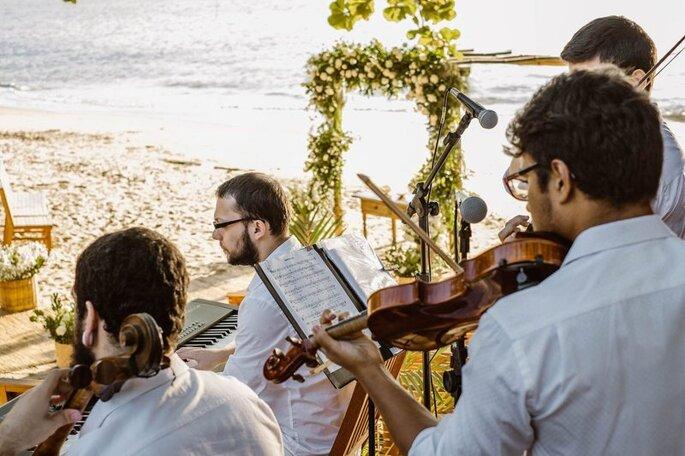 Quarteto de cordas Especial Noivas Grupo Raphael Tavares - Fotografia: João Cappa