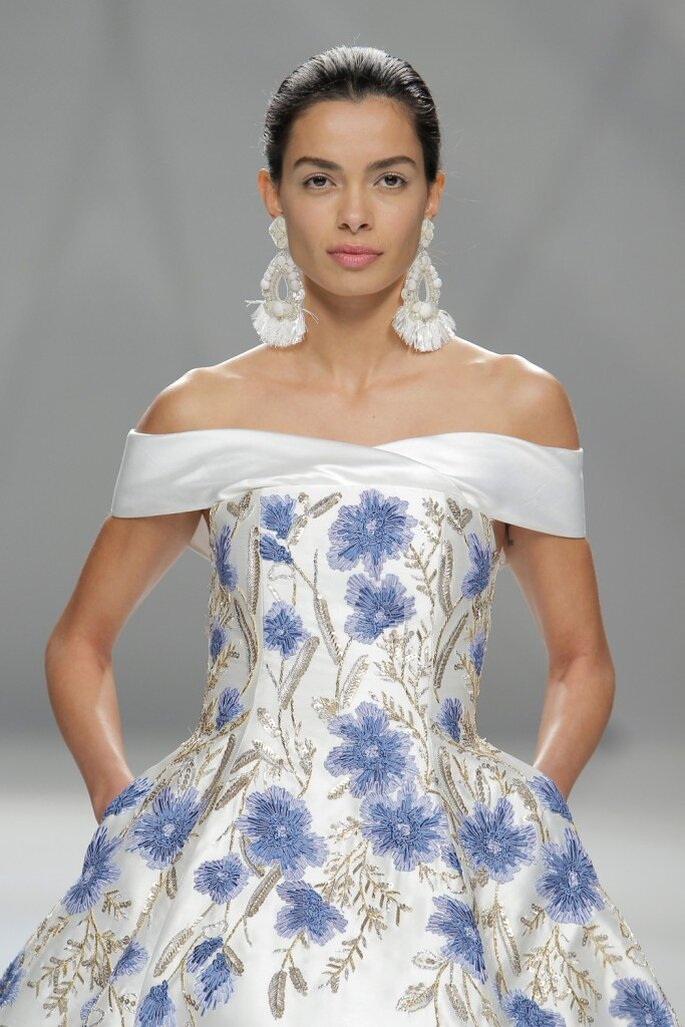 Naeem Khan. Credits: Barcelona Bridal Fashion Week