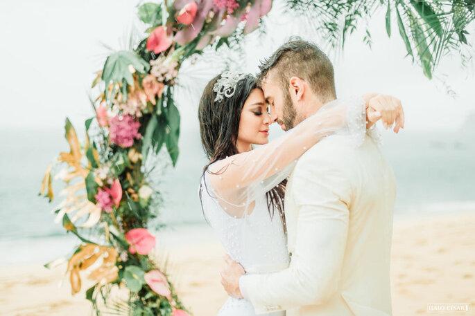 Decoração para casamento praiano